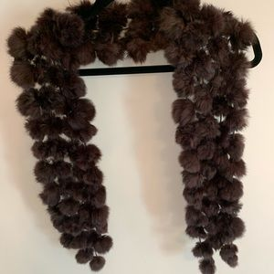Accessories - Real fur scarf